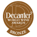 Decanter World Wine Awards 2014 Bronze?