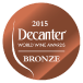 Decanter World Wine Awards 2015 Bronze